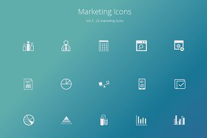 Marketing Icons Vol2