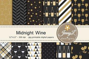 Wine Digital Papers
