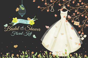 Bridal Shower Floral Kit