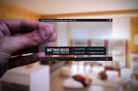Transparent youtube business card business card templates transparent youtube business card business cards friedricerecipe Image collections