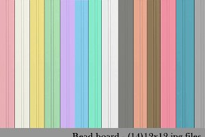 Bead Board Backgrounds