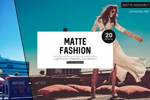 Matte Fashion Lightroom Presets