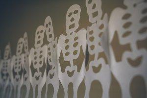 Skeletons for Halloween