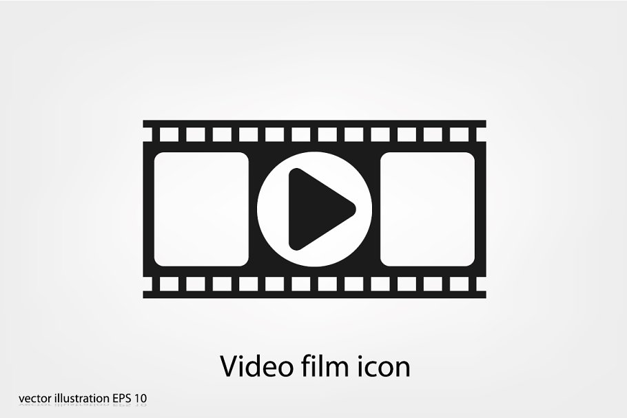 Video film icon in Icons - product preview 8