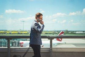 Airport - Calling man