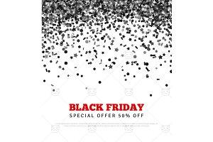 Black Friday Confetti