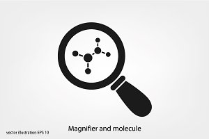 Magnifier and molecule