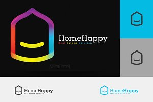 Home Happy Logo