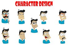Cartoon design