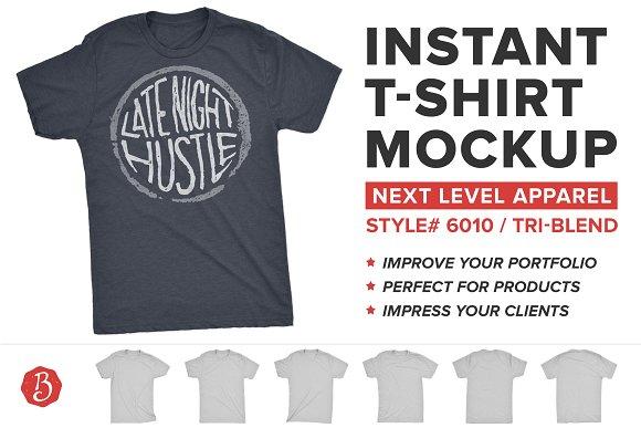 T Shirt Label Mockup