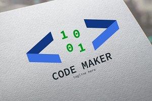 Code Maker Logo