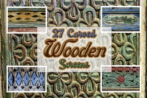 27 Carved Wooden Screens