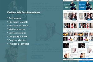 Fashion Sale Email Newsletter