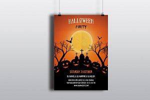 Halloween Party Invitation -V397