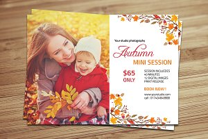 Fall / Autumn mini session -V398