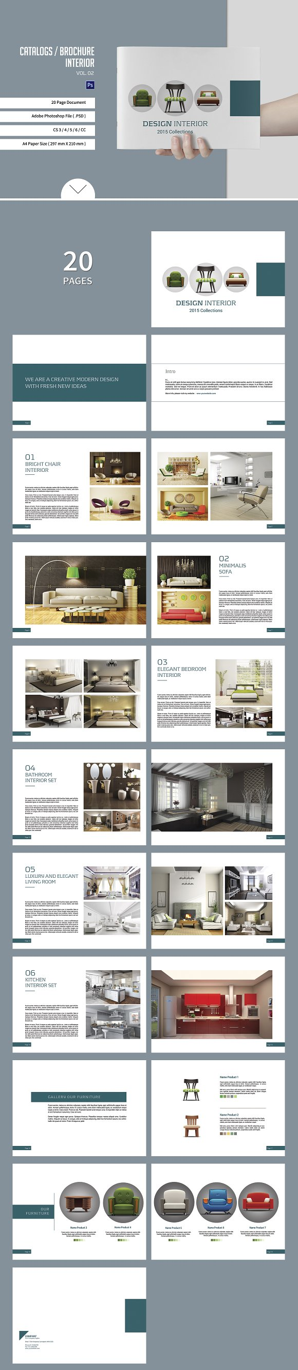 Catalogs / Brochure Interior Vol. 2 - Brochures