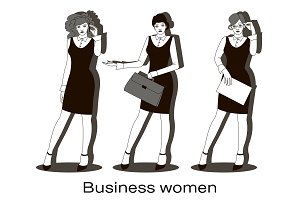 Business women set
