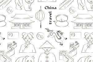 China travel pattern