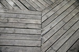 Wooden ground