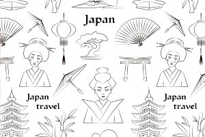 Japan travel pattern