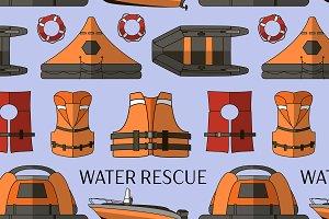 Water rescue set pattern
