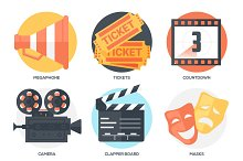 18 Cinema Icons and Poster