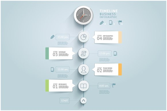 timeline infographic template presentation templates creative