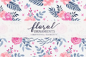 Floral Ornaments Vol.1
