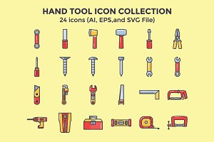 Hand Tool Icon Collection