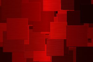 Red Squares Abstract Pattern
