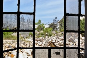 Broken Windows Demolished Factory