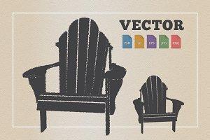 Adirondack Beach Chair