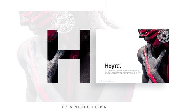 Heyra Powerpoint Template Presentation Templates Creative Market