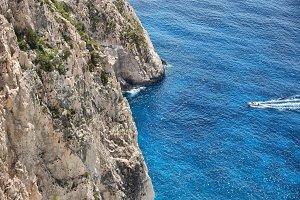 Boat Sea Rocks