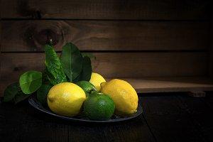 Fresh ripe citrus