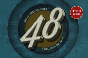 48 Vintage Logo Design Collection