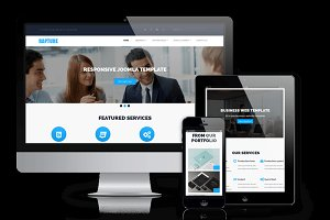 Rapture - Joomla Business Template