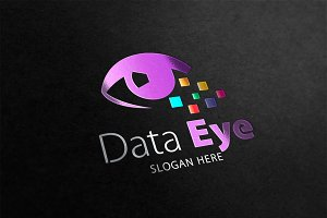 Data Eye Logo