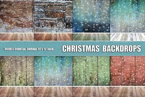 Christmas photogaphy background