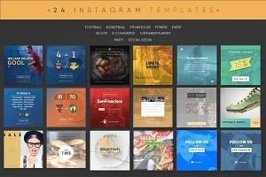 InstaTemp Instagram Templates