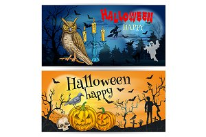 Traditional Halloween posters