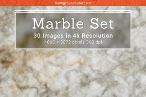 Marble Surface Textures Set