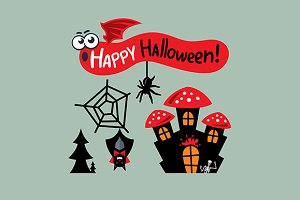 Happy Halloween Concept
