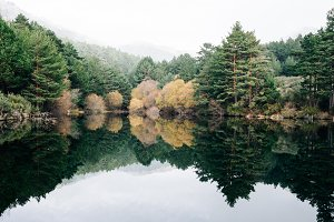 Misty Mountain Lake