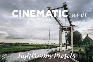 Cinematic vol 01 Lightroom Presets