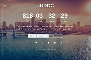 Judoc - HTML 5 Responsive Template
