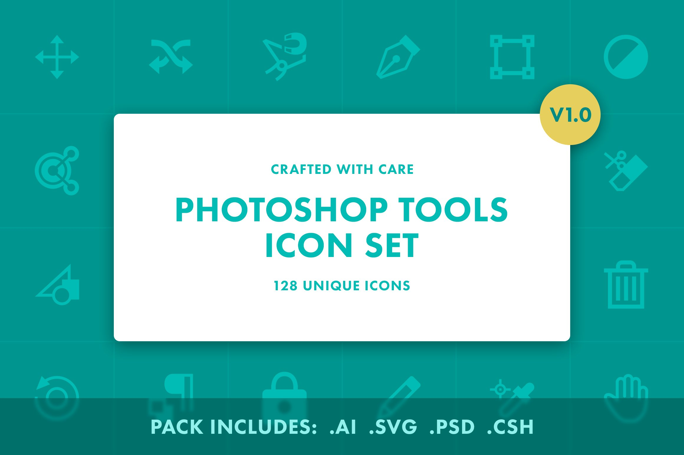 Photoshop tool icons v10 icons creative market sciox Images
