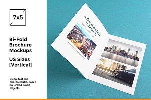 Bi-Fold Brochure / Flyer Mockups