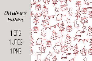 №190 Christmas pattern