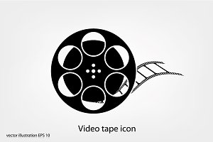 Video tape icon